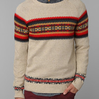 O'Hanlon Mills Placed Fair Isle Sweater - Urban Outfitters