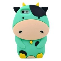 Mixed Color Cow Phone Shell Case for Iphone5/5s