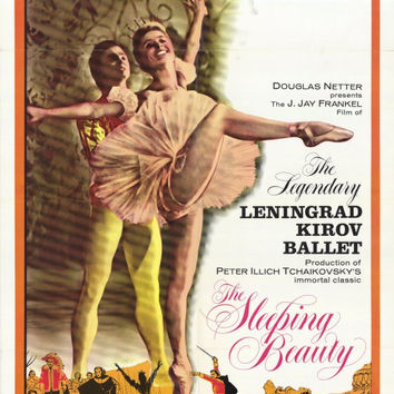 Sleeping Beauty Ballet 11x17 Movie Poster (1966)