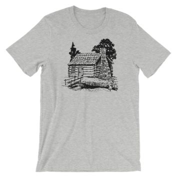 Wooded Cabin - Unisex T-Shirt