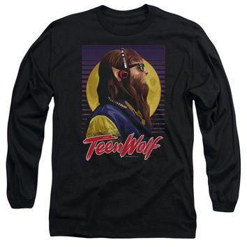 Teen Wolf - Headphone Wolf Long Sleeve Adult 18/1