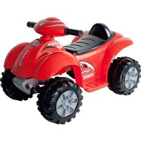 Lil' Rider Battery-Powered Red Raptor 4-Wheeler, Red