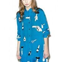 Lazy Oaf Psycho Killer Shirt | Dolls Kill