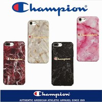 Champion marble phone case shell  for iphone 6/6s,iphone 6p/6splus,iphone 7/8,iphone 7p/8plus, iphonex