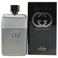Gucci Guilty Eau Pour Homme By Edt Spray 3 Oz
