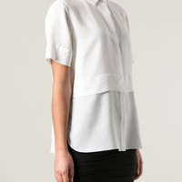 T By Alexander Wang Layered Short Sleeve Shirt