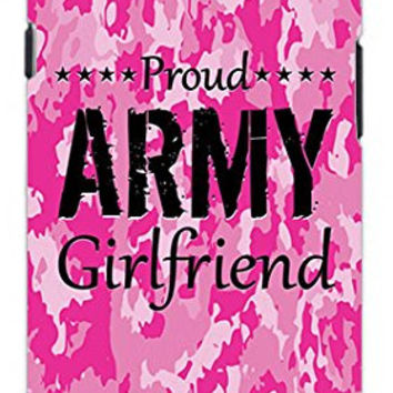 The Best Pink Camo Military Army Girlfriend Camouflage Direct UV Printed Unique Quality Soft Rubber TPU Case for Samsung Galaxy S4 I9500 - White Case