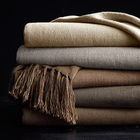 Vintage Linen Throws