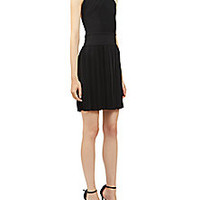 Balmain - Pleated Halter Cocktail Dress - Saks Fifth Avenue Mobile