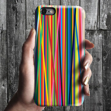 Color Lines iPhone 6/6S, 6 Plus Case 4S, 5S, Galaxy Cover. Mobile Phone Cell. Gift Idea. Birthday gift. For Him, Her