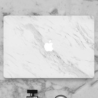 Marble Skin Sticker Cover For Mac Computer
