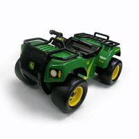 John Deere Foot to Floor Light & Sound ATV Vehicle
