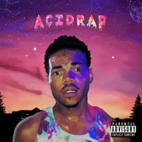 "Chance the Rapper Acid Rap Fabric poster 24"" x 24"" 13"" x 13"" Decor -01"