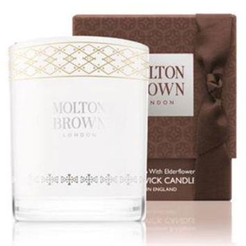Molton Brown Vintage with Elderflower Single Wick Candle, 6.3 oz./ 180 g
