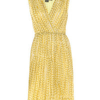 Buy MAXMARA Sleeveless printed dress from Matches Fashion