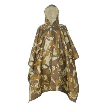 High-Jump Camouflage Ghillie Suits Waterproof Rain Poncho Military Outdoor Camping Hiking Hunting Ground Sheet Ghillie Suits
