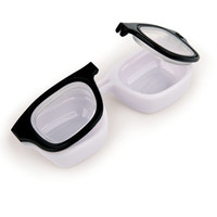 Kikkerland Design Inc   » Products  » Retro Specs Contact Lens Case