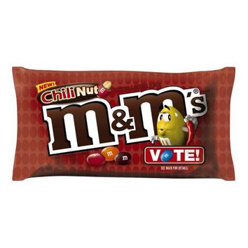 M&M'S Chili Nut Peanut Chocolate Candy Bag, 10.2 oz - Walmart.com