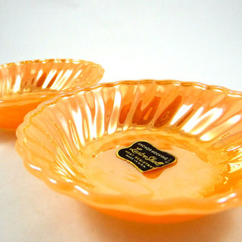 Anchor Hocking Lustre Milk Glass Bowls from 1960s