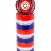 Sunset Skateboards Merica Flare Led 59Mm Skateboard Wheels Red/White/Blue One Size For Men 27871794801