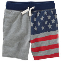 Pull-On Flag Shorts