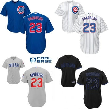 stitched mlb jersey 2016 world series champions patch youth chicago cubs 23 ryne mitchell and ness c