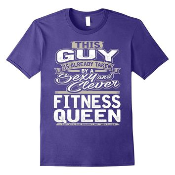 Fitness Queen Shirt Gift For Boyfriend Husband Fiance 1