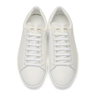 White SL/01 Low-Top Sneakers
