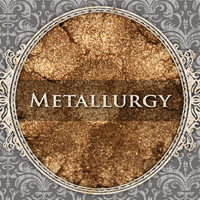 METALLURGY Mineral Eyeshadow: 5g Sifter Jar, Metallic True Gold, VEGAN Cosmetics, Metallic Eye Shadow