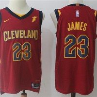 Best Deal Online Basketball Jerseys Cleveland Cavaliers # 23 LeBron James Red