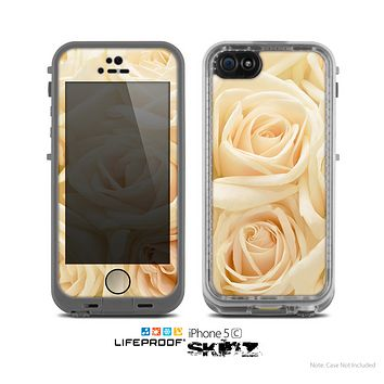 The Subtle Roses Skin for the Apple iPhone 5c LifeProof Case