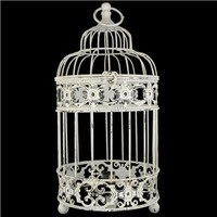 Whitewash Bird Cage Lamp | Shop Hobby Lobby