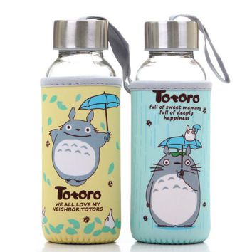 Totoro Kawaii Glass Coffee Mug Drinkware
