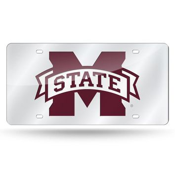 Mississippi State Bulldogs NCAA Laser Cut License Plate Tag