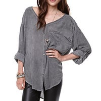 LA Hearts V-Neck Blouse at PacSun.com