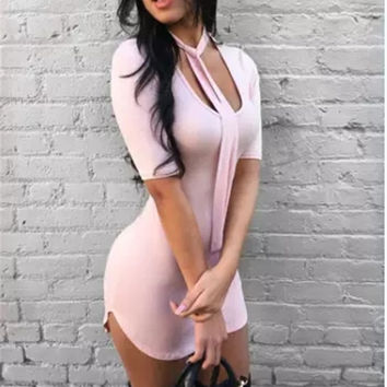 Summer Hot Sale Casual Sexy Women's Fashion One Piece Dress [4918511428]