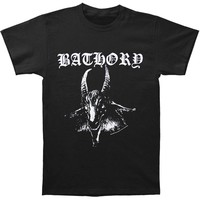 Bathory Men's  Goat T-shirt Black