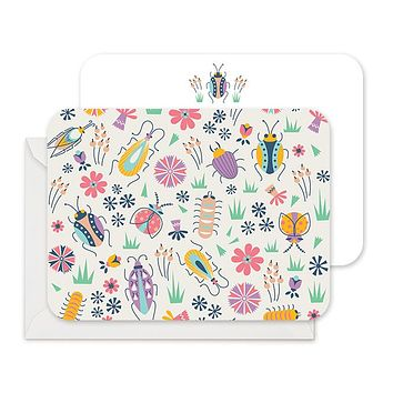 Bug out - Stationery Notecards