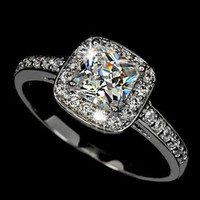 1.25 ct Princess Cut AAA Cubic Zirconia Dinner Ring (HR-1300)