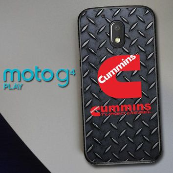 Cummins Turbo Diesel Logo Z3883 Motorola Moto G4 Play Case