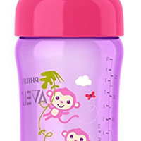 Philips Avent My Sip-n-Click Cup, Pink/Purple, 12 Ounce