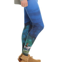 Her Universe Studio Ghibli Princess Mononoke Forest Spirit Leggings