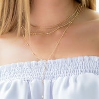 Fun Layers Necklace | Monday Dress