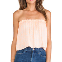 Indah X REVOLVE Star Strapless Tube Top in Peach