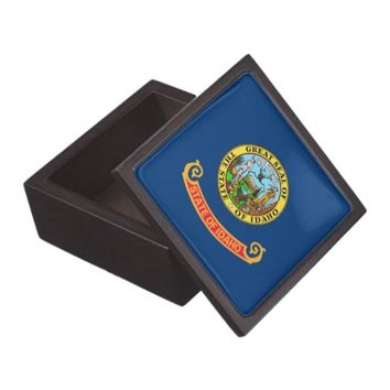 Idaho State Flag Premium Gift Box
