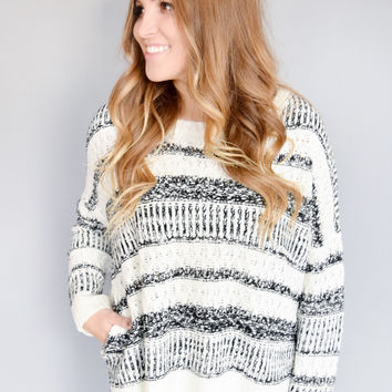Northern Lights Striped Sweater