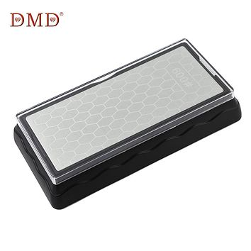 DMD Sharpener Double-Side Diamond Whetstone Knife Sharpening Stone Kitchen Chef Grindstone Grit Honeycomb Type Sharpen Block