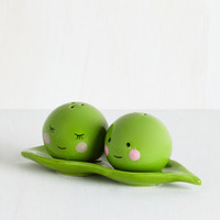 One Hundred 80 Degrees Best Seller Peas Pass the Salt Shaker Set