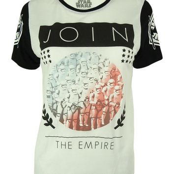 "Star Wars Juniors' ""Join The Empire"" Print T-Shirt"