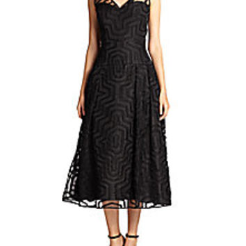 MILLY - Olivia Aztec Gown - Saks Fifth Avenue Mobile